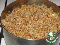 Пестрая гречневая кашка ингредиенты