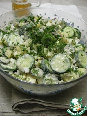 Рецепт Берлинский картофельный салат