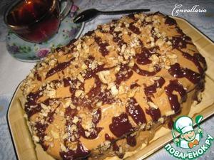 Рецепт Шоколадный торт с черносливом