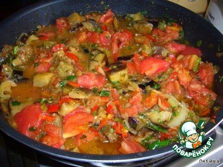 блюдо аджапсандал с мясом рецепт приготовления
