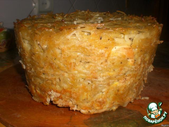 Бабка макаронная сладкая рецепт