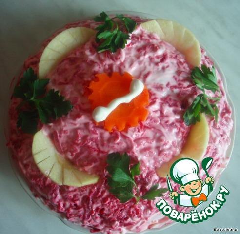 фото слоеные салаты пошагово