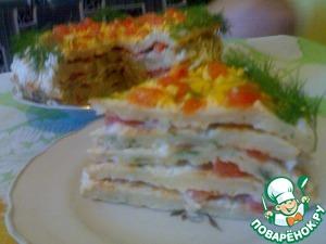 Рецепт Торт из цветной капусты