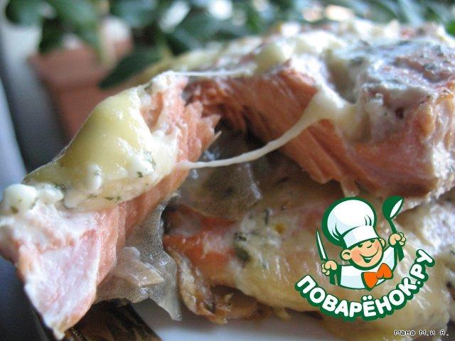 Рыбное филе с сырными кармашками домашний рецепт с фото пошагово #4