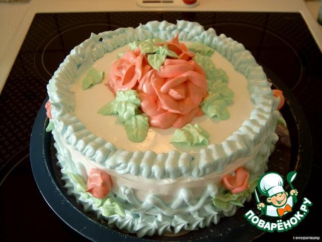 Рецепт белкового торта на день рождения