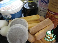 Кофейный тирамису ингредиенты