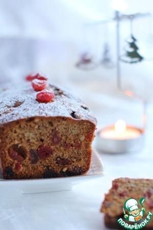 Рецепт Темный рождественский кекс
