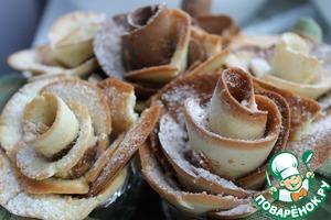 """Рецепт """"Букет роз"""" к чаю"""