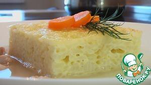 Рецепт Запеканка из риса с бульоном