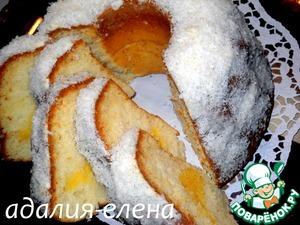 Рецепт Кекс «Рафаэль»
