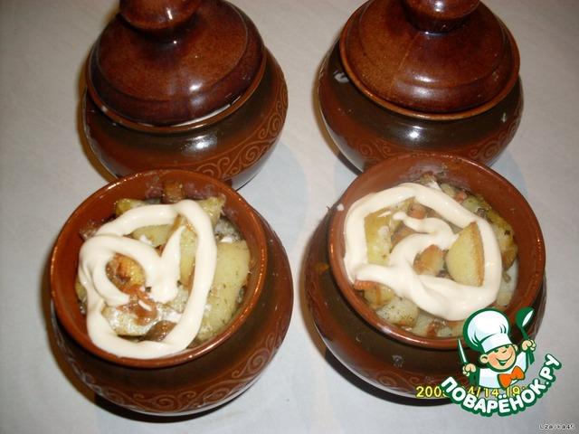 Приготовление в горшочках пошаговый рецепт