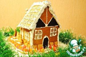 Рецепт Пряничный домик