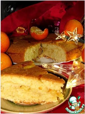 Рецепт Миндально-апельсиновый пирог