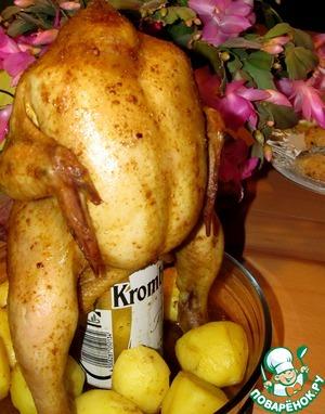 """Рецепт Цыпленок """"Под хмельком"""""""