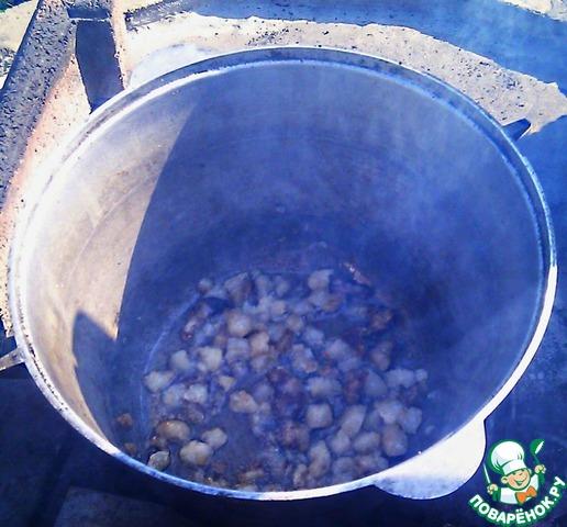 Плов из баранины с курдючным жиром рецепт пошаговый с