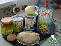 Салат  «Курочка Ряба» ингредиенты