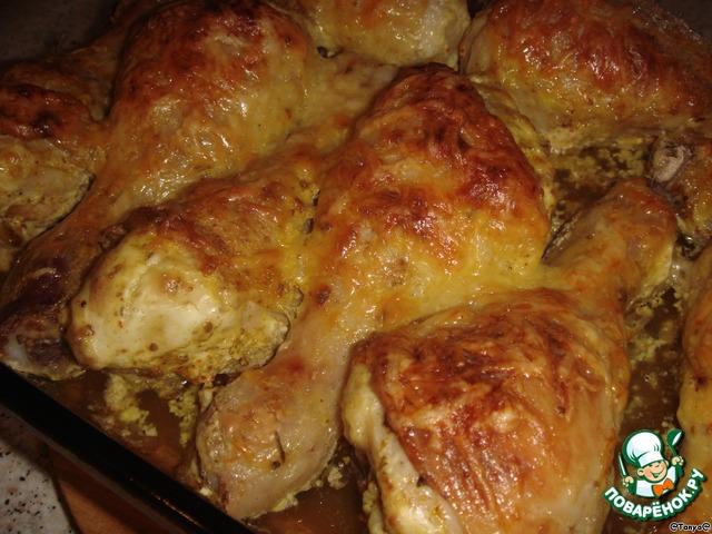 Рецепты курицы в сметане в духовке с