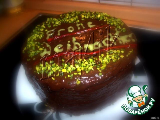 Торт лабиринт пошаговый рецепт с