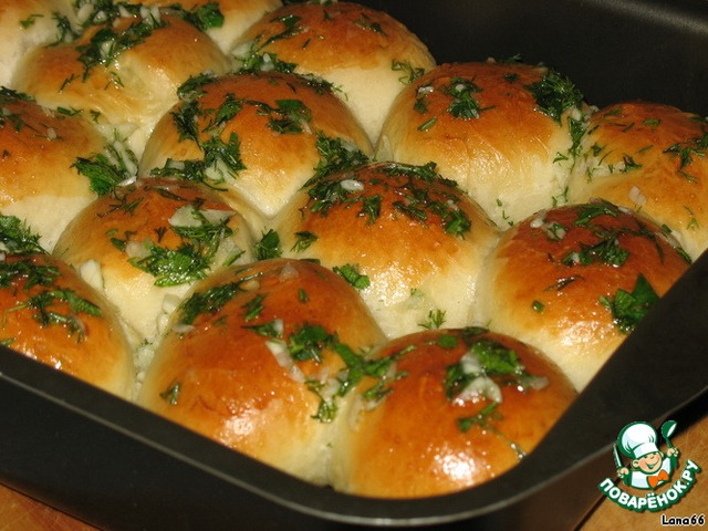 Рецепт пампушки с чесноком к борщу с фото пошагово