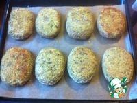Куриные зразы с грибами ингредиенты