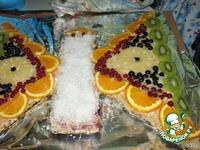 """Фруктовый торт  """"Бабочка"""" ингредиенты"""