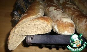 Рецепт Французский багет на опаре