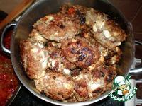 """Колбаски под соусом """"Привет из Греции"""" - кулинарный рецепт"""