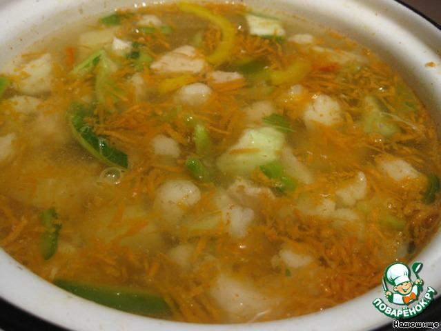 Суп куриная грудка рецепты с фото пошагово