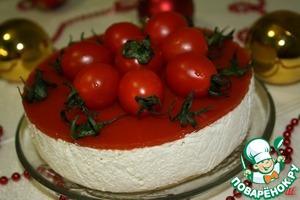 """Рецепт Закусочный сметанный торт-суфле """"Песто"""""""