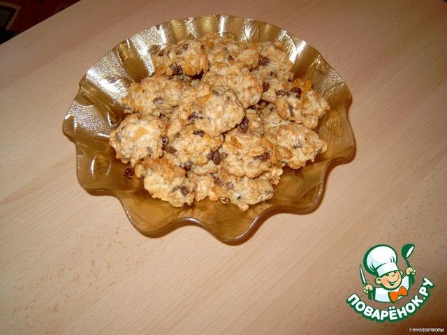 Печенье из кукурузных хлопьев рецепт с фотографиями пошагово #5