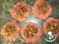 Котлеты, фаршированные грибами ингредиенты