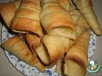 """Пирожные """"Слоеные трубочки"""" ингредиенты"""