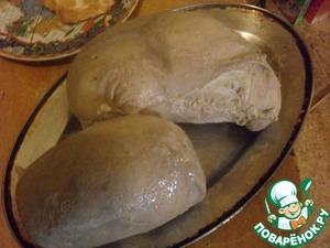 Рецепт Фаршированный свиной желудок