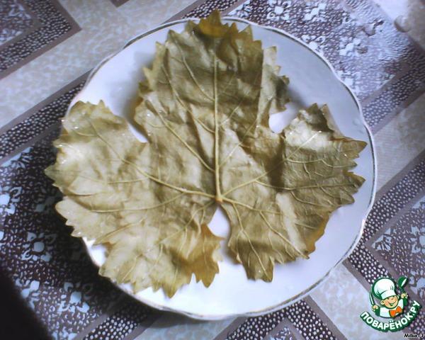 Рецепт с пошагово как готовить долму