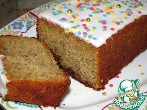 Рецепт Медовый кекс с лесными орехами