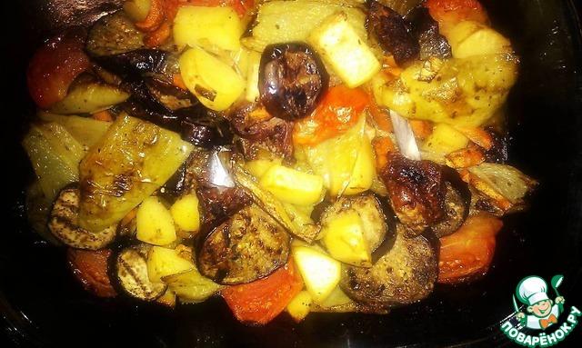 Овощи с ребрышками в духовке рецепты