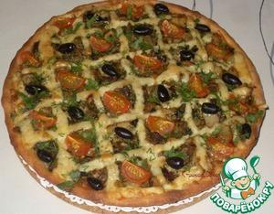 Рецепт Начинка грибная для открытого пирога или пиццы