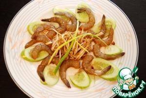 Рецепт Креветки маринованные по-тайски
