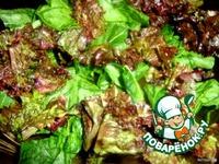 Салат с красной рыбой ингредиенты