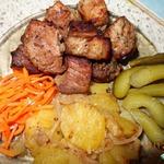 Мясо в гранатовом соке