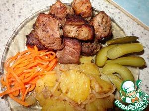 Рецепт Мясо в гранатовом соке