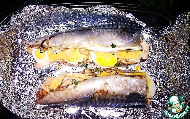 Вкусно запечь рыбу с картошкой в духовке рецепт