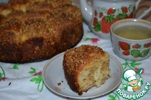 Рецепт: Пирог с творогом