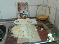 Украинский борщ с фрикадельками, грибами и красной фасолью
