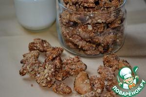 Рецепт Необычная ореховая гранола