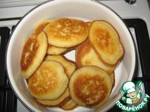 Рецепт Бисквитные оладьи