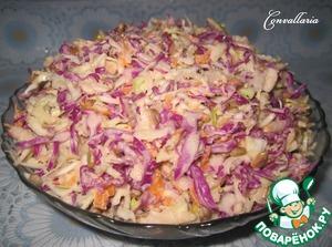Рецепт Салат «Коул Слоу» с семечками подсолнечника