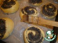 Сладкие сдобные булочки ингредиенты