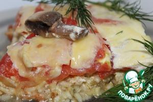 Рецепт Гювеч с рисом и овощами