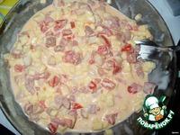Тарталетки с сыром и беконом ингредиенты